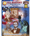 U.S. History, Grades 6 - 8: People and Events: 1607-1865 (American History) Cover Image