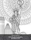 Livro para Colorir de Arte Doodle Sonhadora para Adultos 4, 5 & 6 Cover Image