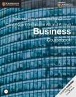 Cambridge International AS and A Level Business Coursebook [With CDROM] (Cambridge International Examinations) Cover Image