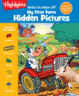 Write-On Wipe-Off My First Farm Hidden Pictures (Write-On Wipe-Off My First Activity Books) Cover Image