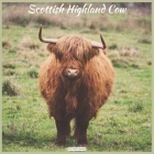 Scottish Highland Cow 2021 Wall Calendar: Official Highland Cow Wall Calendar 2021 Cover Image