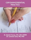 CSP Exam Essential Practice Simply and Thoroughly Explained (Professional Development #1) Cover Image