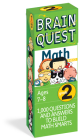 Brain Quest Grade 2 Math  (Brain Quest Decks) Cover Image