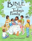 Bible for Today's Family New Testament-Cev Cover Image