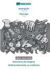 BABADADA black-and-white, português - Xitsonga, dicionário de imagens - xihlamuselamarito xa swifaniso: Portuguese - Tsonga, visual dictionary Cover Image