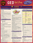 GED Test Prep - Science & Social Studies: A Quickstudy Laminated Reference Guide Cover Image