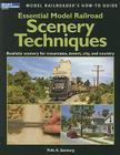 Essential Model Railroad Scenery Techniques Cover Image