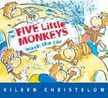 Five Little Monkeys Wash the Car Cover Image