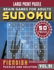 Suduko for adults: sudoku extremely hard - Hard Sudoku Puzzle books for adults entertainment Cover Image