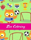 Zoo Coloring: Children Coloring and Activity Books for Kids Ages 3-5, 6-8, Boys, Girls, Early Learning Cover Image