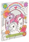 My Little Pony Retro Coloring Book (Coloring Books) Cover Image