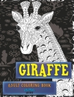 Adult Coloring Book Artists - Animal - Giraffe Cover Image
