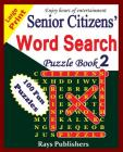 Senior Citizens' Word Search Puzzle Book 2 Cover Image