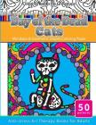 Coloring Books for Grownups Day of the Dead Cats: Mandalas & Geometric Shapes Coloring Pages Anti-Stress Art Therapy Books for Adults Cover Image