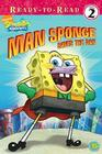 Man Sponge Saves the Day Cover Image