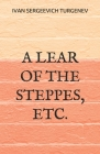 A Lear of the Steppes, etc. Cover Image
