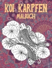 Koi Karpfen - Malbuch Cover Image