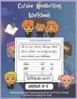 Cursive Handwriting Workbook for Grade 3 to 5+: Inspiring Quotes: Reproducible Activity Pages With Motivational and Character-Building Quotes That Mak Cover Image