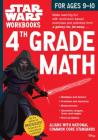 Star Wars Workbook: 4th Grade Math (Star Wars Workbooks) Cover Image
