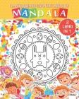 Il mio primo grande libro di Mandala - 2 libri in 1: Libro da colorare di mandala per bambini e principianti - 2 in 1 Cover Image