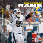 Los Angeles Rams 2021 12x12 Team Wall Calendar Cover Image
