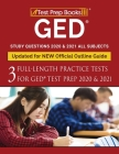 GED Study Questions 2020 & 2021 All Subjects: Three Full-Length Practice Tests for GED Test Prep 2020 & 2021 [Updated for NEW Official Outline Guide] Cover Image