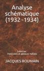 Analyse schématique (1932 -1934): Collection: Théoriciens et penseurs haïtiens Cover Image