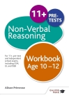 Non-Verbal Reasoning Workbook Age 10-12 Cover Image