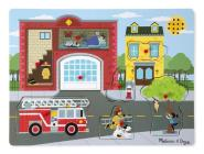 Around the Fire Station Sound Puzzle [With Battery] Cover Image