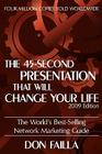 The 45 Second Presentation That Will Change Your Life Cover Image
