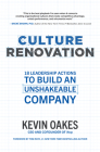 Culture Renovation: 18 Leadership Actions to Build an Unshakeable Company Cover Image