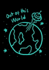 Out of This World: Space Sketchbook for Kids Teens Boys Girls Cover Image