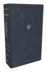 Niv, the Woman's Study Bible, Leathersoft, Blue, Full-Color: Receiving God's Truth for Balance, Hope, and Transformation Cover Image