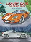 Luxury Cars Coloring Book (Dover Coloring Books) Cover Image