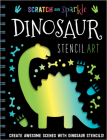 Dinosaur Stencil Art Cover Image