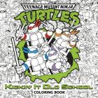 Kickin' It Old School Coloring Book (Teenage Mutant Ninja Turtles) Cover Image