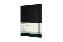 Moleskine 2020-21 Monthly Planner, 18M, Extra Large, Black, Hard Cover (7.5 x 9.75) Cover Image