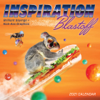 Inspiration Blastoff 2021 Wall Calendar: Brilliant Sayings and Kick-Ass Graphics Cover Image