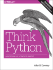 Think Python: How to Think Like a Computer Scientist Cover Image