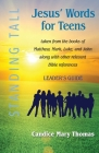 Jesus' Words for Teens--Standing Tall Leader's Guide Cover Image