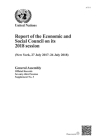 Report of the Economic and Social Council on Its 2018 Session Cover Image