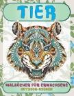 Malbücher für Erwachsene - Outdoor-Szenen - Tier Cover Image