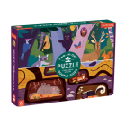 Forest Above & Below 100 Piece Double-Sided Puzzle Cover Image