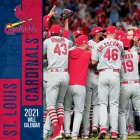 St Louis Cardinals 2021 12x12 Team Wall Calendar Cover Image