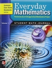 Everyday Mathematics, Grade 5, Student Math Journal 1 Cover Image