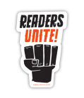 Readers Unite (Sticker) Cover Image