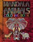 Mandala Animals Coloring book Cover Image