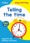 Collins Easy Learning Age 5-7 — Telling Time Ages 5-7: New Edition Cover Image