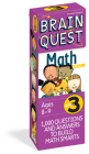 Brain Quest 3rd Grade Math Q&A Cards: 1000 Questions and Answers to Challenge the Mind. Curriculum-based! Teacher-approved! (Brain Quest Decks) Cover Image
