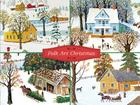 Folk Art Christmas Deluxe Holiday Notecards Cover Image
